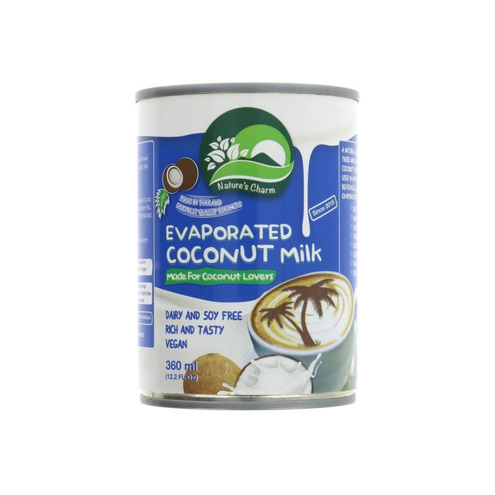 Nature's Charm Vegan evaporated coconut milk