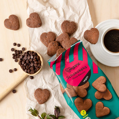 organic vegan chocolate biscuits