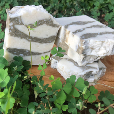 All-natural handmade soap with Moringa powder