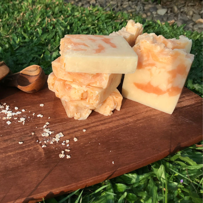 All-Natural Handmade Vegan Soap with Oatmeal