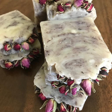All-natural Handmade body soap with Rose