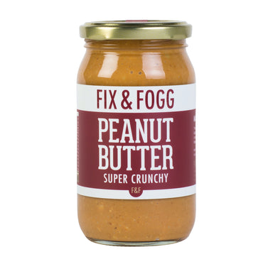 fix and fogg peanut butter super crunchy