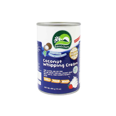 Nature's Charm vegan whipping cream