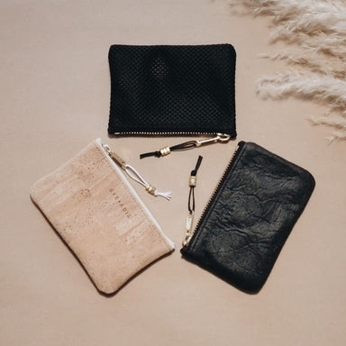 Sustainable vegan wallet card holder