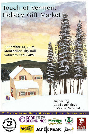 Dec. 14: Touch of Vermont Holiday Gift Market