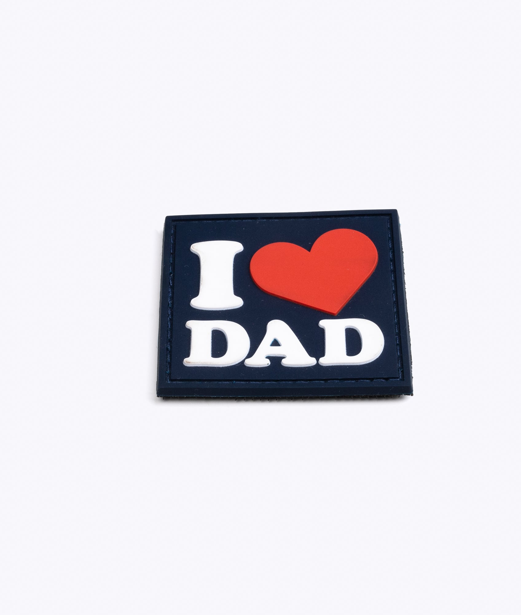'I ❤️ DAD' PVC Patch