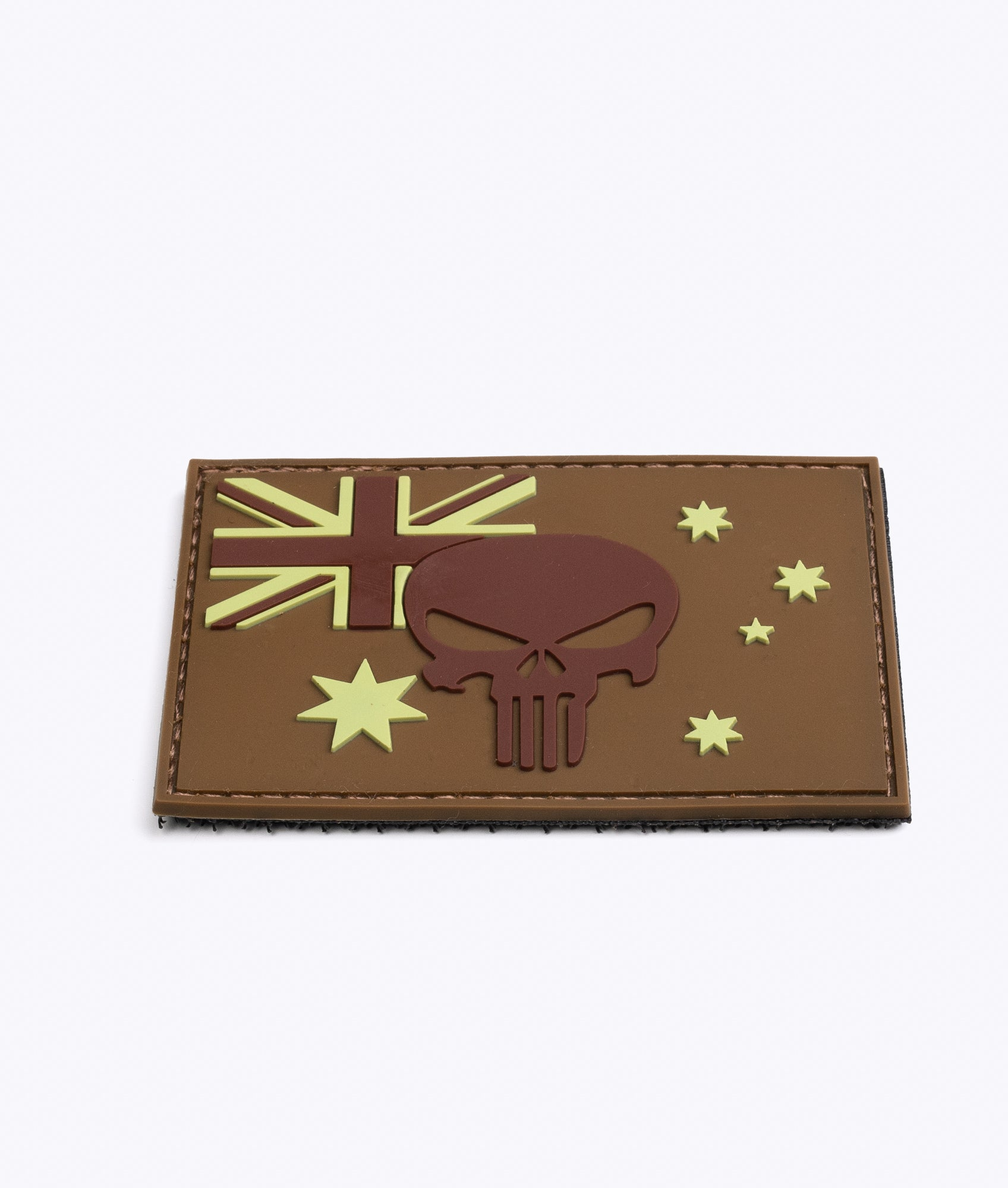 Australian Flag 'Punisher' PVC Patch