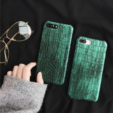 Luxury Crocodile Case For iPhone
