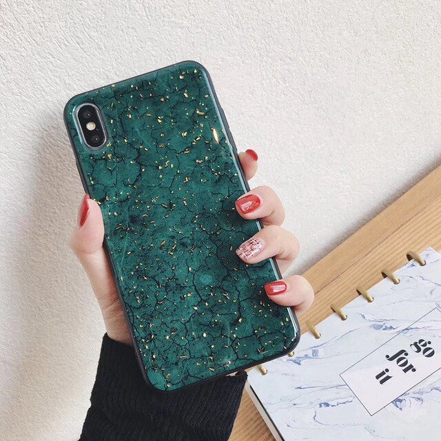 Luxury iPhone Green Case