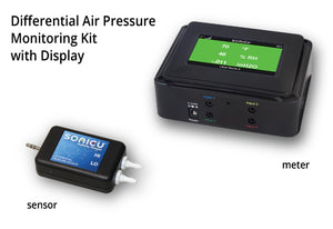 Differential Air Pressure Monitoring Kit - (Integrated Display)