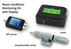 Room Conditions Monitoring Kit - (Integrated Display)