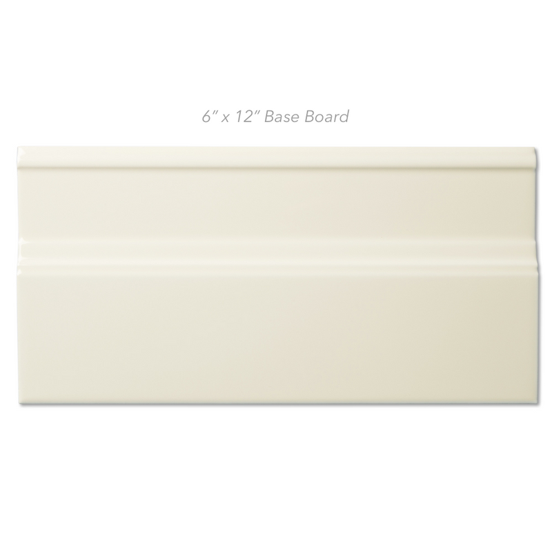 Solid Glaze Bone Molding/Trim