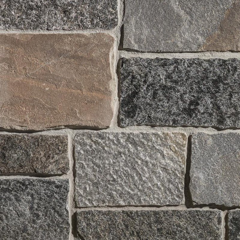 Rustic Ashlar: Winter Harbor