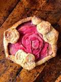 Pink Pearl Apple and Walnut Frangipane Galette