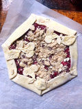 Cranberry Crumble Galette