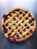 Apricot Blackberry Pie