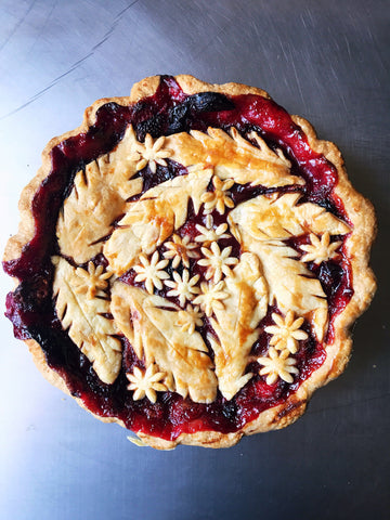 Mixed Berry Ginger Pie