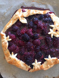 Blackberry Galette with a Thyme Crust