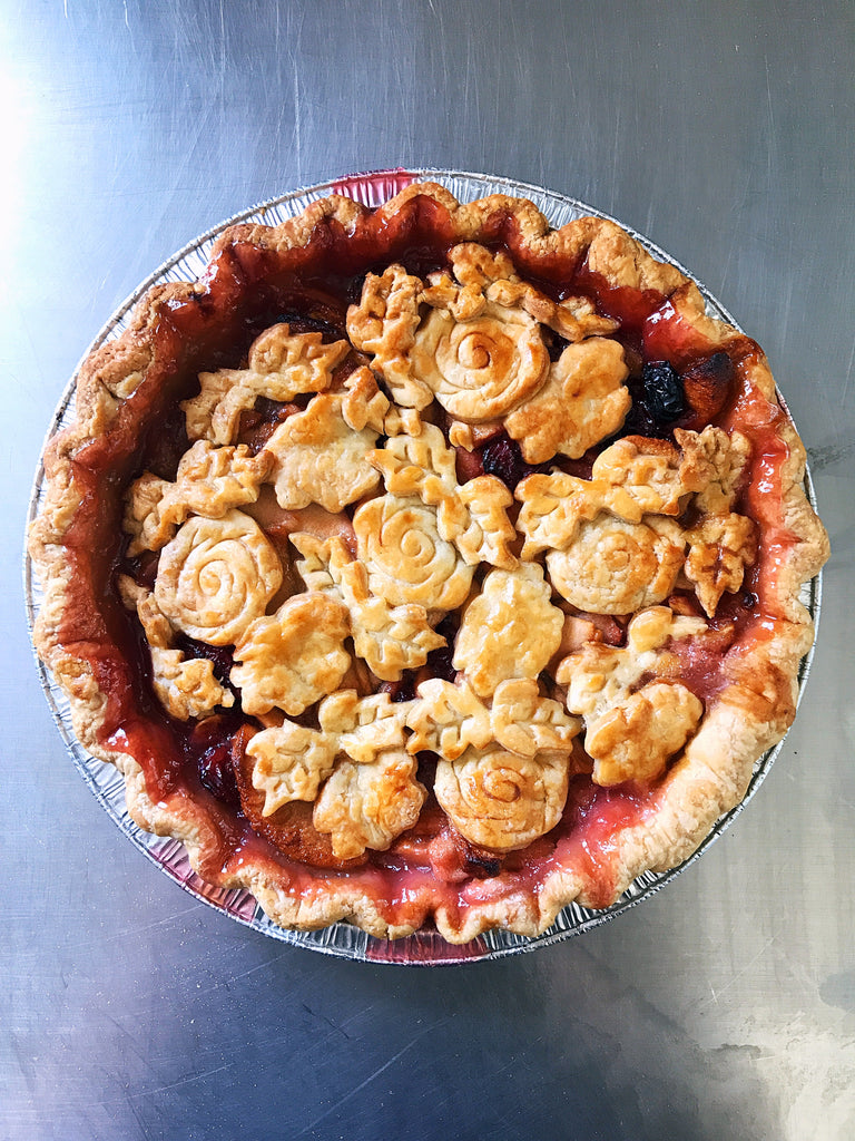 Montmorency Cherry Apple Pie