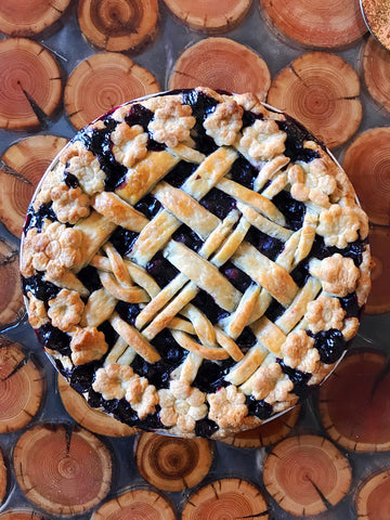 Maple Blueberry Pie