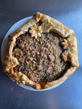 Pumpkin Butter Galette with Pecan Streusel