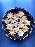 Blueberry Nectarine Ginger Pie