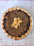 Spiced Black and Blue Streusel Pie