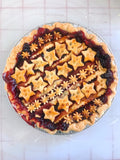 Blackberry Pear Pie with a Fresh Thyme Crust