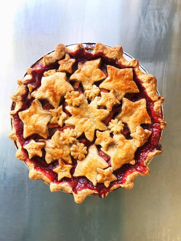 Apple Raspberry Pie