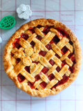 Lemon Strawberry Rhubarb Pie