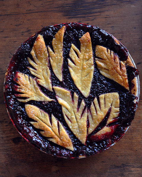 Blackberry Chai Spiced Pie
