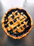 Cinnamon Blueberry Pie