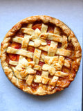 Blue Ribbon Brown Sugar Peach Pie
