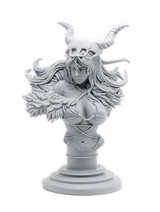 Primal Huntress Bust