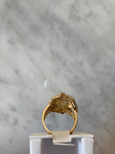 Load image into Gallery viewer, 14K Tiger Head Ring