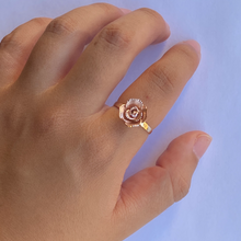 Load image into Gallery viewer, 14K Rose Ring