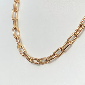 14K Large Open Link Chain