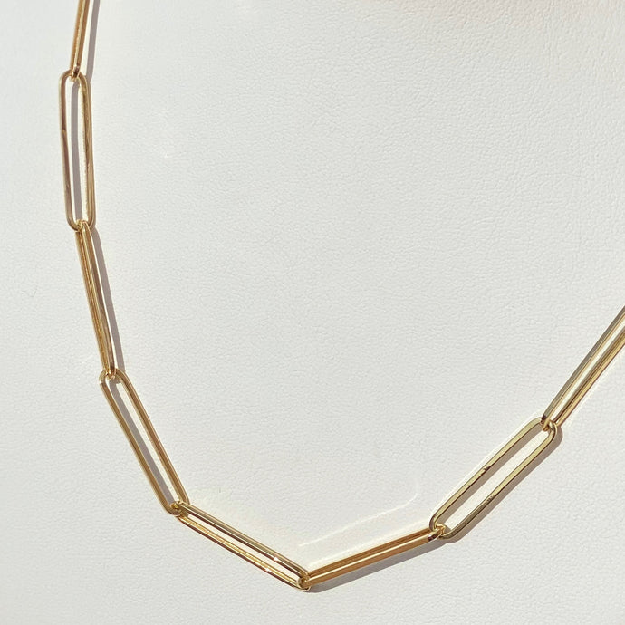 14K PaperClip Chain