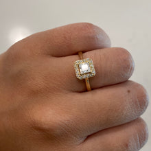 Load image into Gallery viewer, Solid 14K Mini Princess Ring
