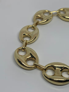 14K Puffy Gucci Bracelet