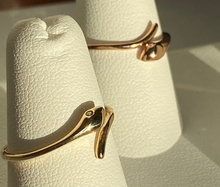 Load image into Gallery viewer, 14K Mini Snake Ring