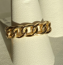 Load image into Gallery viewer, 14K Cuban Link Eternity Ring