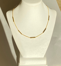Load image into Gallery viewer, 14K Bar Adjustable Choker