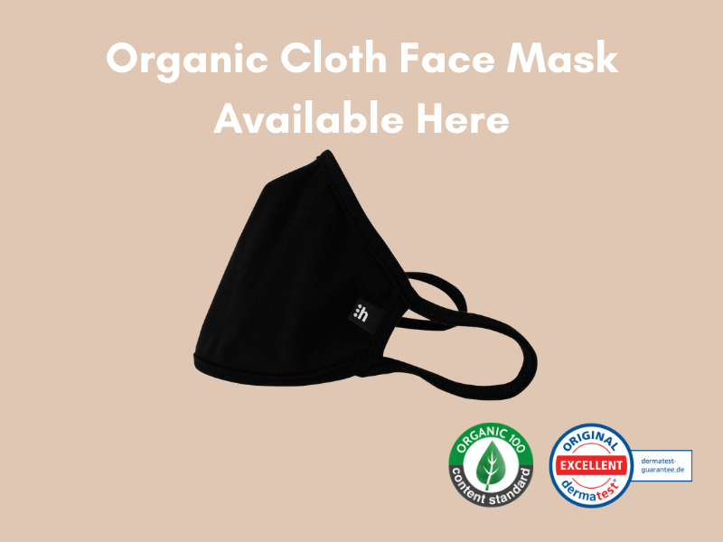 Introducing hannah⋮MASK– Certified Organic Cloth Face Mask