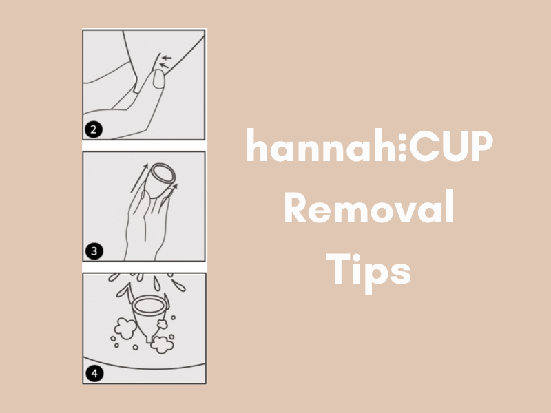 hannah⋮NZ- 7 Steps for Easy Menstrual Cup Removal