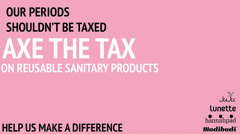 Tax Exemption Should Include ALL Reusable Menstrual Products