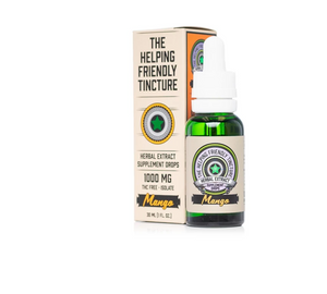 The Helping Friendly Mango Herbal Extract Tincture