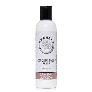 AndHemp Lavender Lotion 500mg - Ultimate CBD