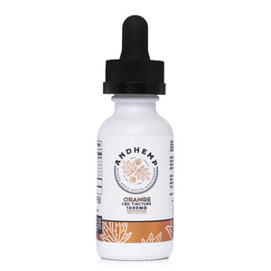 AndHemp Orange Tincture 1000mg - Ultimate CBD