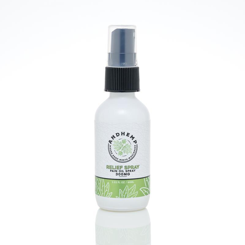 AndHemp Pain Oil Spray 500mg - Ultimate CBD
